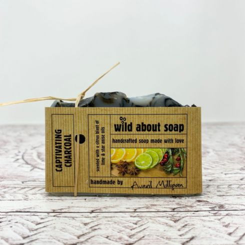 Averil Milligan - Wild About Soap Natural Captivating Charcoal